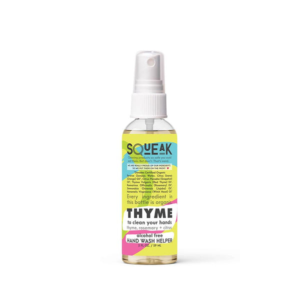 THYME to clean your hands | hand wash helper | citrus, thyme + rosemary
