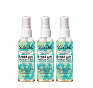 HANDi SANi 3-PACK | 80% alcohol hand sanitizer, cinnamon  + rosemary