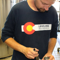 Loveland Aleworks Colorado Flag Thermal