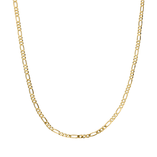 CLASSIC BABY CHAIN NECKLACE GOLD - Dreizack Jewelry