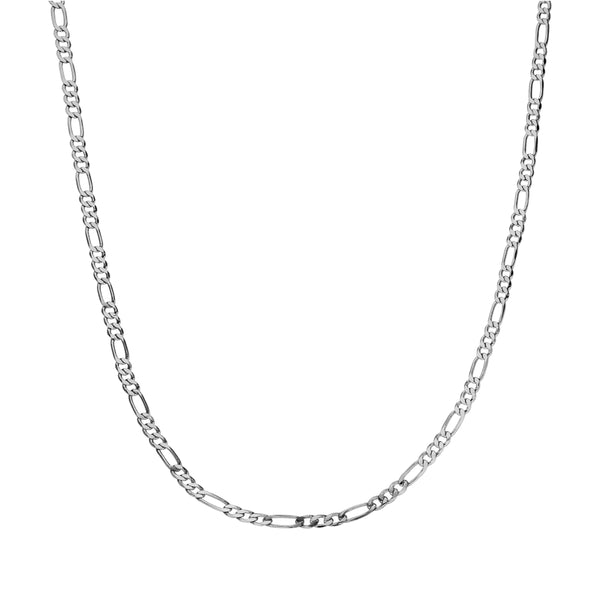 CLASSIC BABY CHAIN NECKLACE SILVER - Dreizack