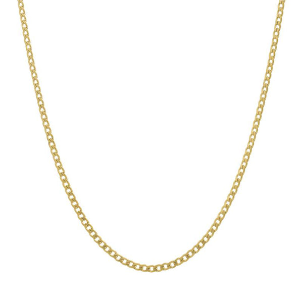 CLASSIC CHAIN NECKLACE GOLD - Dreizack Jewelry