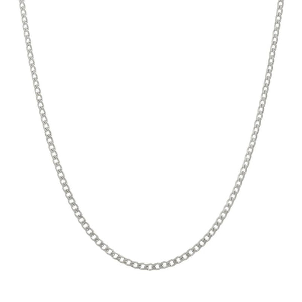 CLASSIC CHAIN NECKLACE SILVER - Dreizack