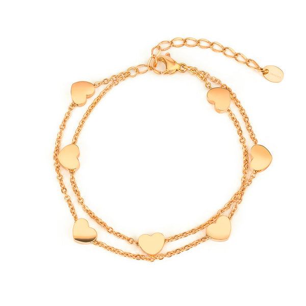 'ENDLESS LOVE' BRACELET GOLD - Dreizack