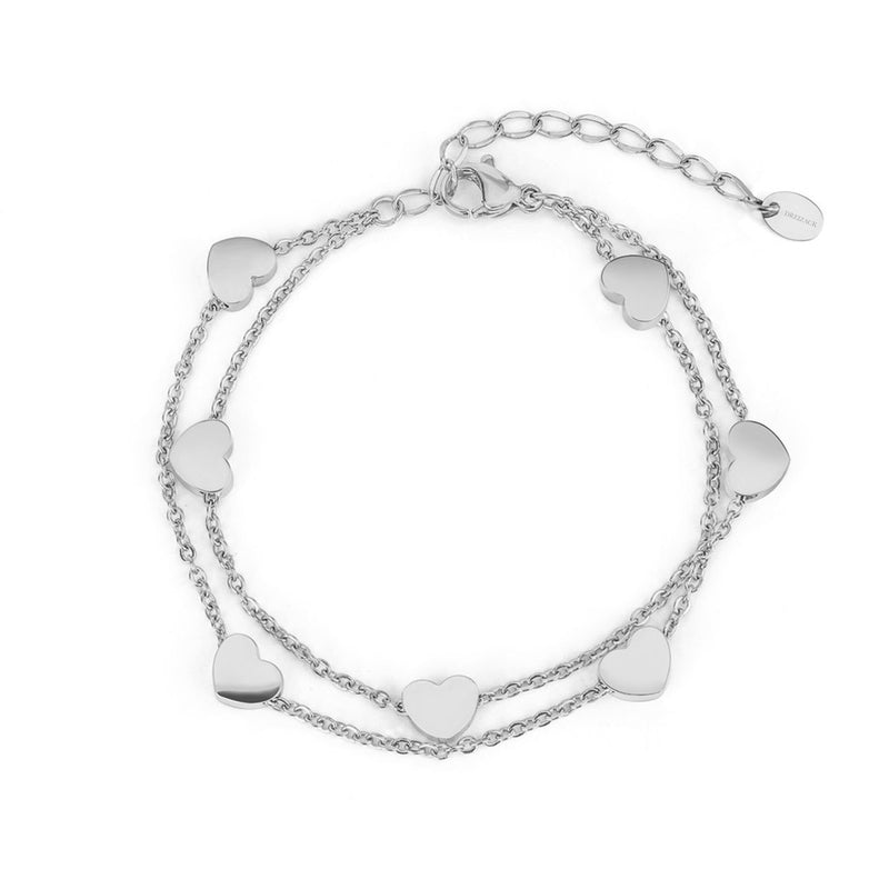 'ENDLESS LOVE' BRACELET SILVER - Dreizack Jewelry