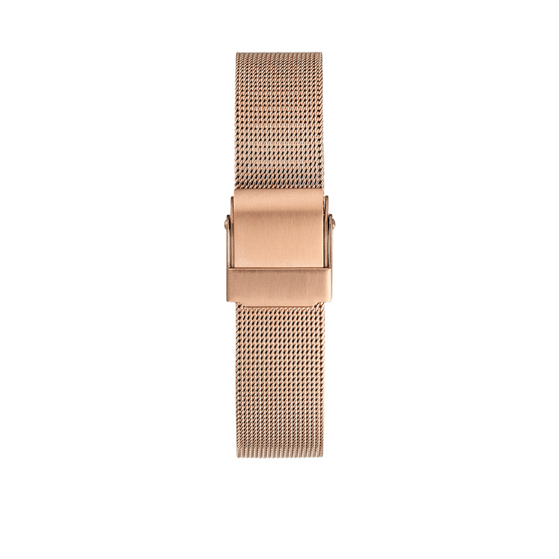 ROSE GOLD MESH STRAP - Dreizack Jewelry