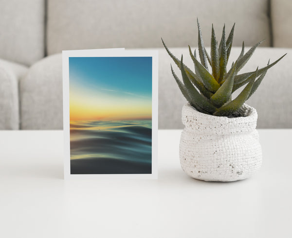 Sea Studio Greeting Cards, small (pack of 4)