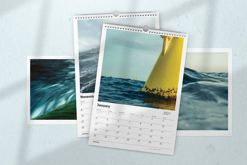 Sea Studio 2021 Wall Calendar