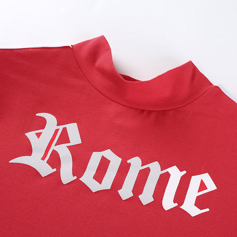 What Happens In Rome Stays In Rome Crop Top