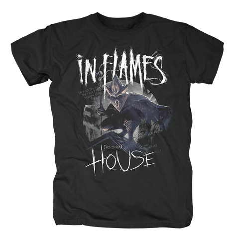 This Is Our House T-shirt (Black)