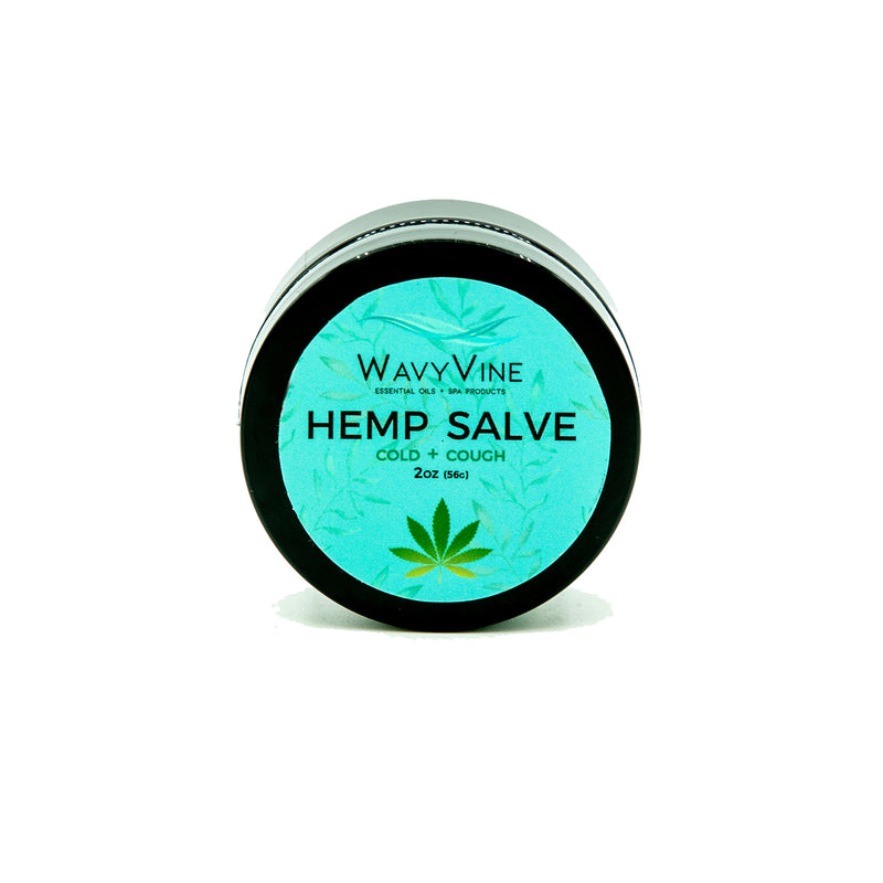Cold + Cough Hemp Salve