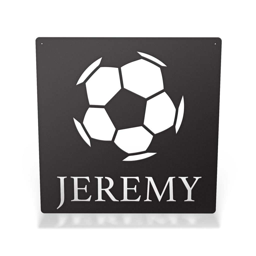 Personalized Soccer Sign