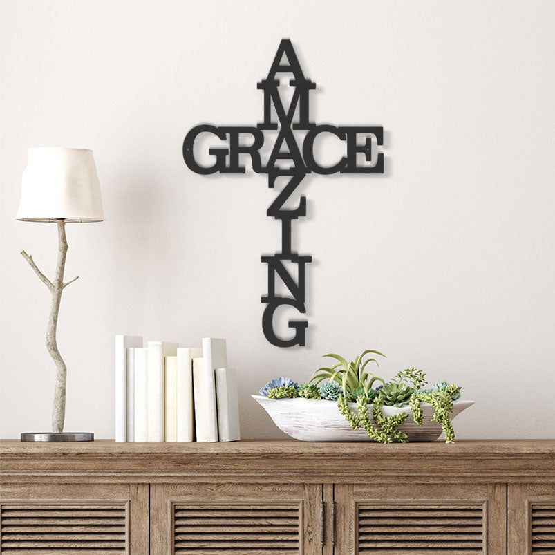 Promo - Amazing Grace Metal Sign