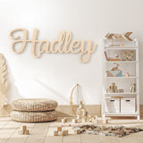 Hadley Font - Wooden Monogram Sign