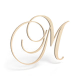 Katie Font - Wooden Monogram Sign