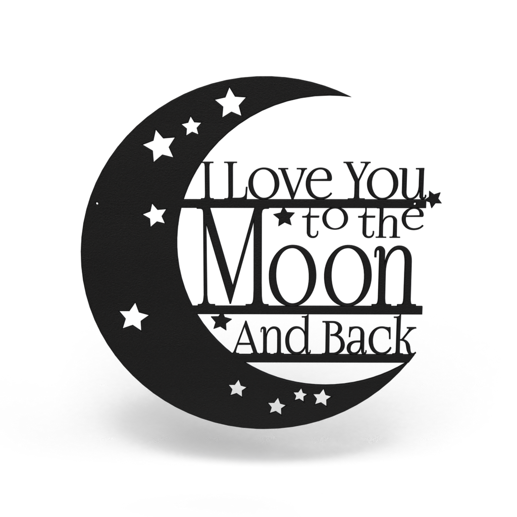Add-on I Love You to the Moon Sign