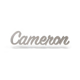 Cameron Font - Wooden Monogram Sign