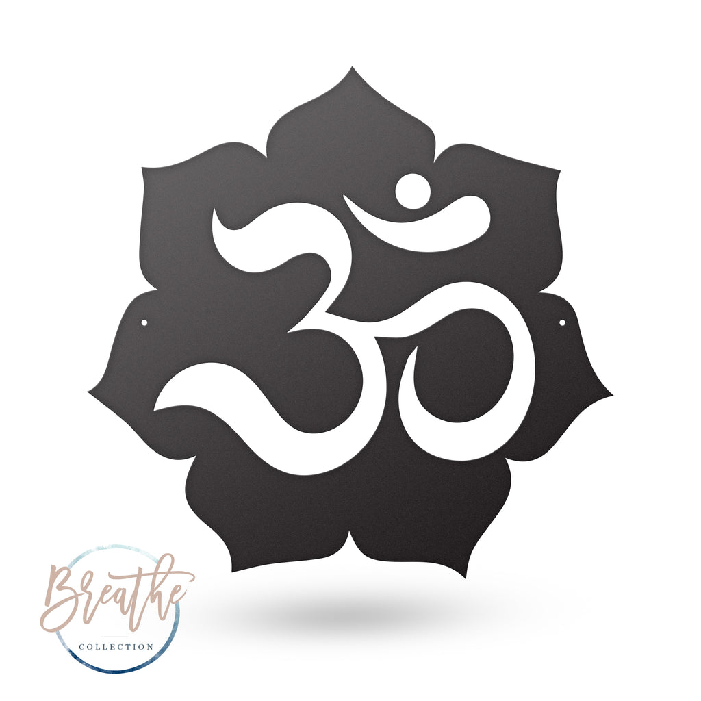 Breathe - Om Lotus