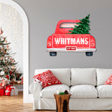 Personalized Christmas Truck