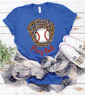 Play Ball Graphic Tee