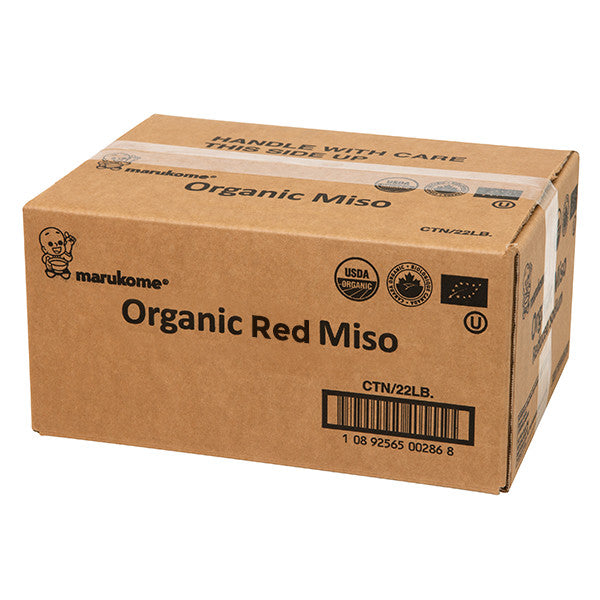 Red Organic Miso 22 lbs