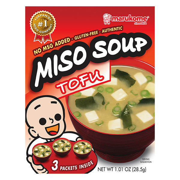 Classic Tofu Instant Miso Soup 3-Pack