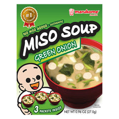 Green Onion Instant Miso Soup 3-Pack
