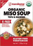 Organic 4 Pack Tofu and Seaweed Instant Miso - 3 bags