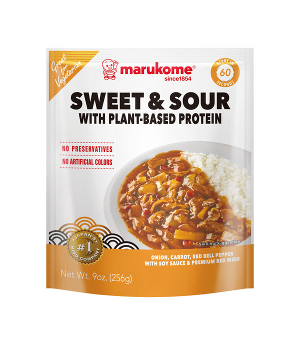 Sweet & Sour with Plant Based Protein PBP