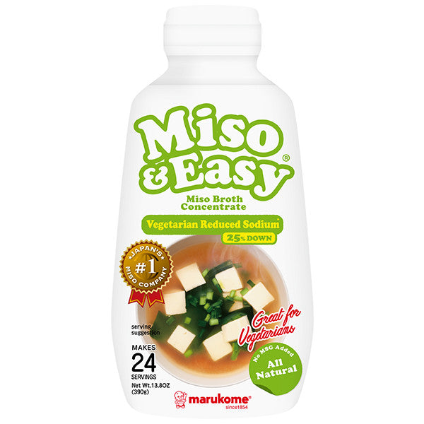 Vegetarian Miso & Easy With Reduced Sodium