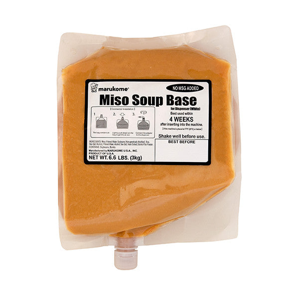 Soup Dispenser Miso Base 6.6 lbs - 4 bags