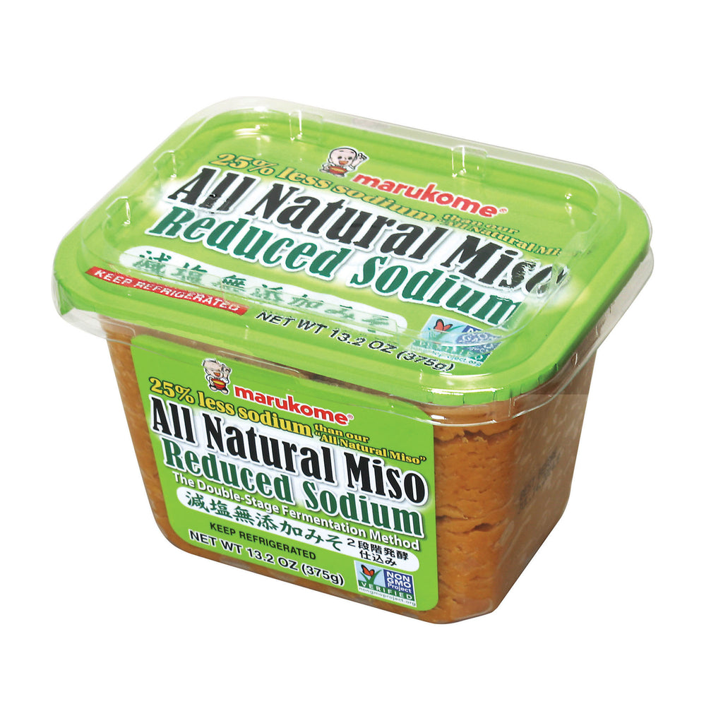 All Natural 375 g Reduced Sodium Miso Paste