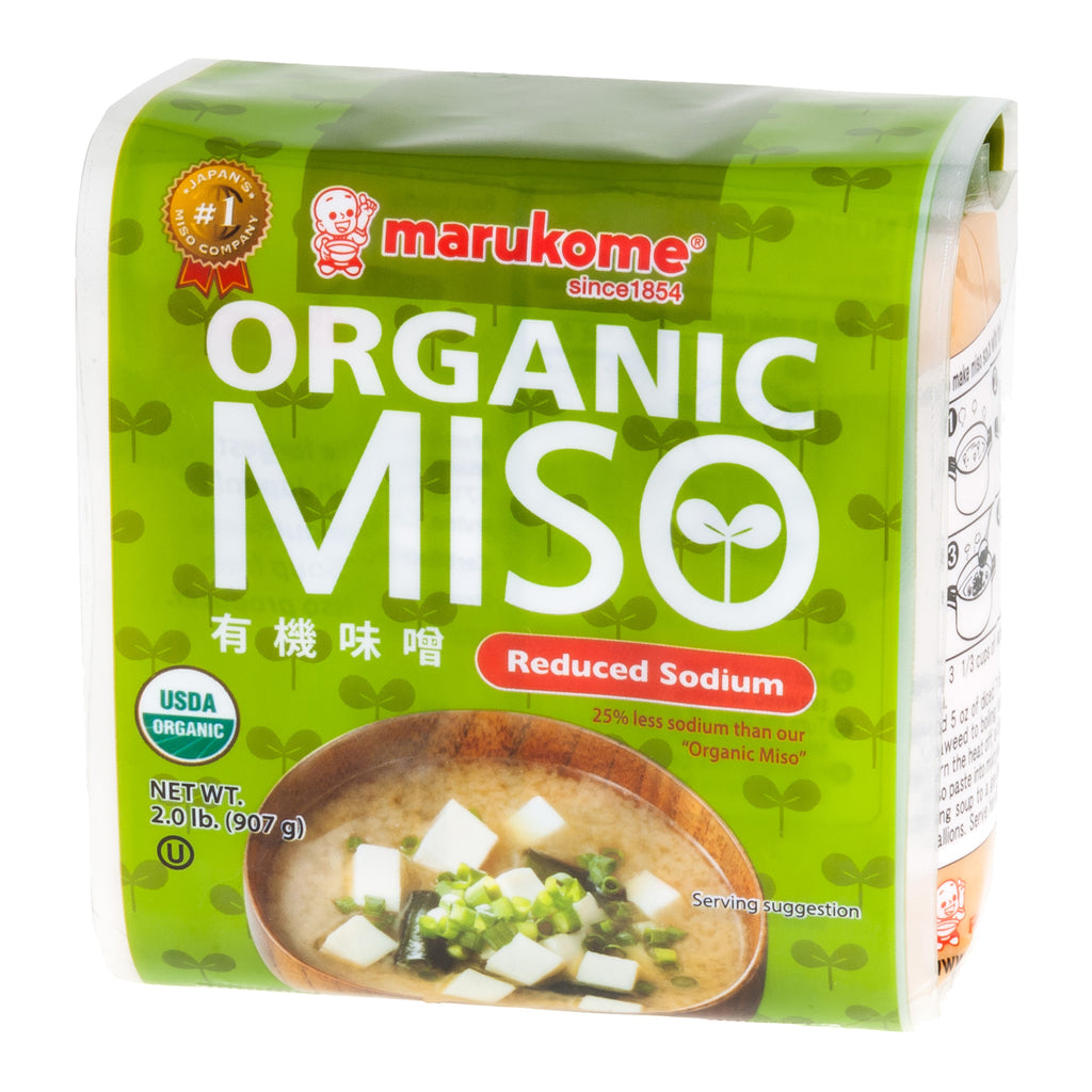 Organic 2 lbs Reduced Sodium Miso Paste