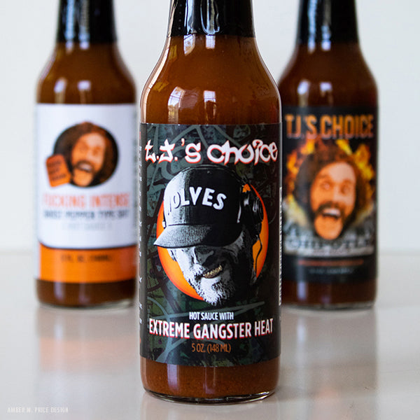Extreme Gangster Heat Hot Sauce