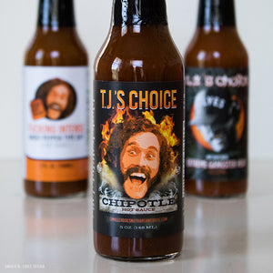 AUTOGRAPHED T.J.'s Choice Chipotle Hot Sauce