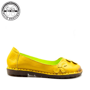 Z-Bella Blom (Yellow) clearance sale 3½,4 & 5½ - Vellie Boutique
