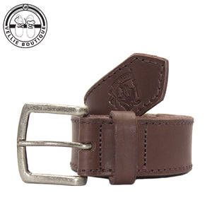 Jim Green Leather Belt - Brown