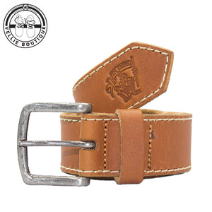 Jim Green Leather Belt - Tan