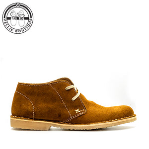 Hudson Buck Suede Biscuit (5390) - Vellie Boutique