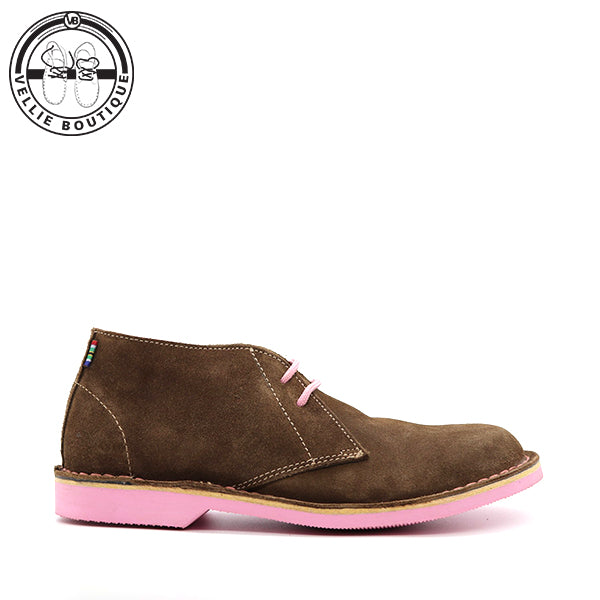 The Uhambo Veldskoen Heritage (Pink Sole) - Vellie Boutique