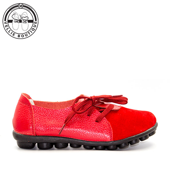 Z-Trapsoetjies (Red) sizes 3½,4 and 9 clearance sale - Vellie Boutique