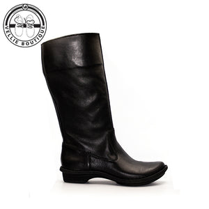 Tsonga - Vutha Long Leg Boot - Black Relaxa - Vellie Boutique