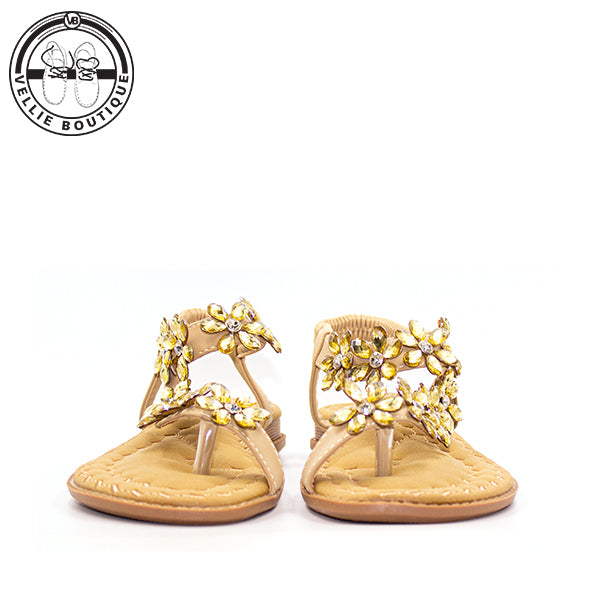 Z- Diamond Clip Toe Tribe (Khaki) clearance sale size 4,5½ and 8 - Vellie Boutique