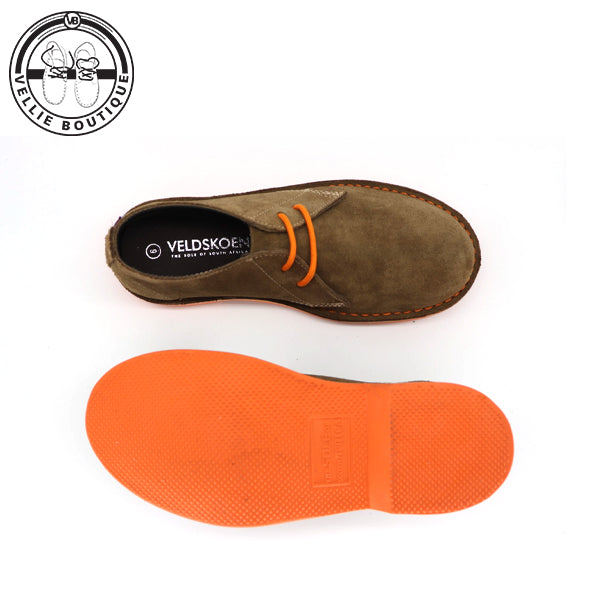 The Bloem Veldskoen Heritage (Orange Sole) - Vellie Boutique