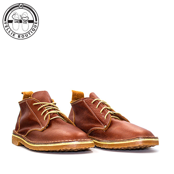 Oukraal High Cut (Tan Rust) - Vellie Boutique
