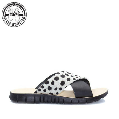 Angelsoft Chloe Dalmation Black (1651)