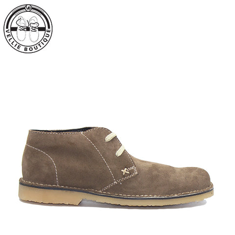 Grasshopper Hudson Buck Suede Coffee (5390) - Vellie Boutique