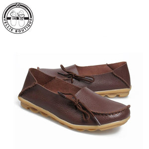 Tulip (Coffee Brown) size 3½ and 9 - Vellie Boutique