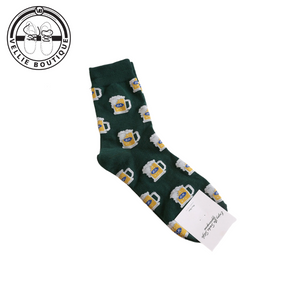 Beer Fun Socks (Green)