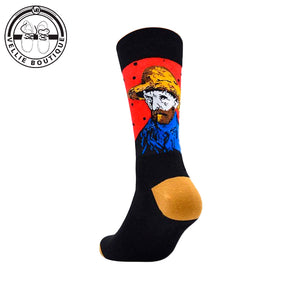 Van Gogh - Black & Red - Vellie Boutique